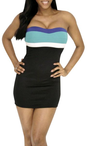 Aroused (Black/Teal)-Great Glam $29.80