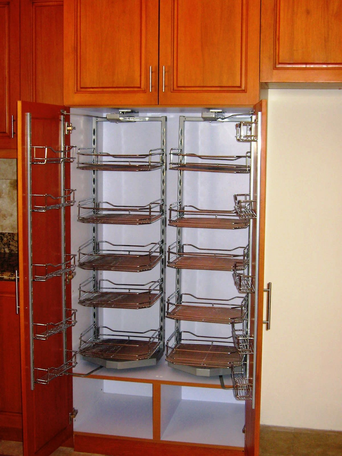 Stainless Steel Swing out Pantry Storage | Hannah Modular ...