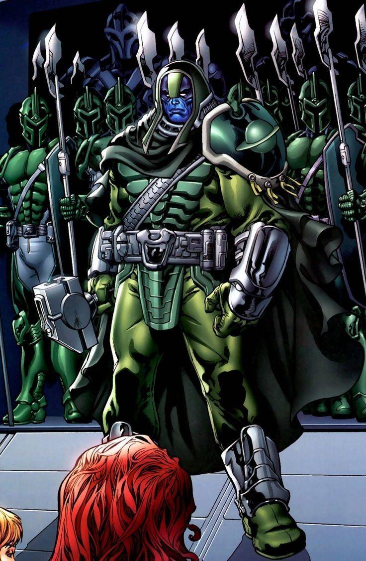 ronan the acusser | marvel artwork | marvel comics art, marvel
