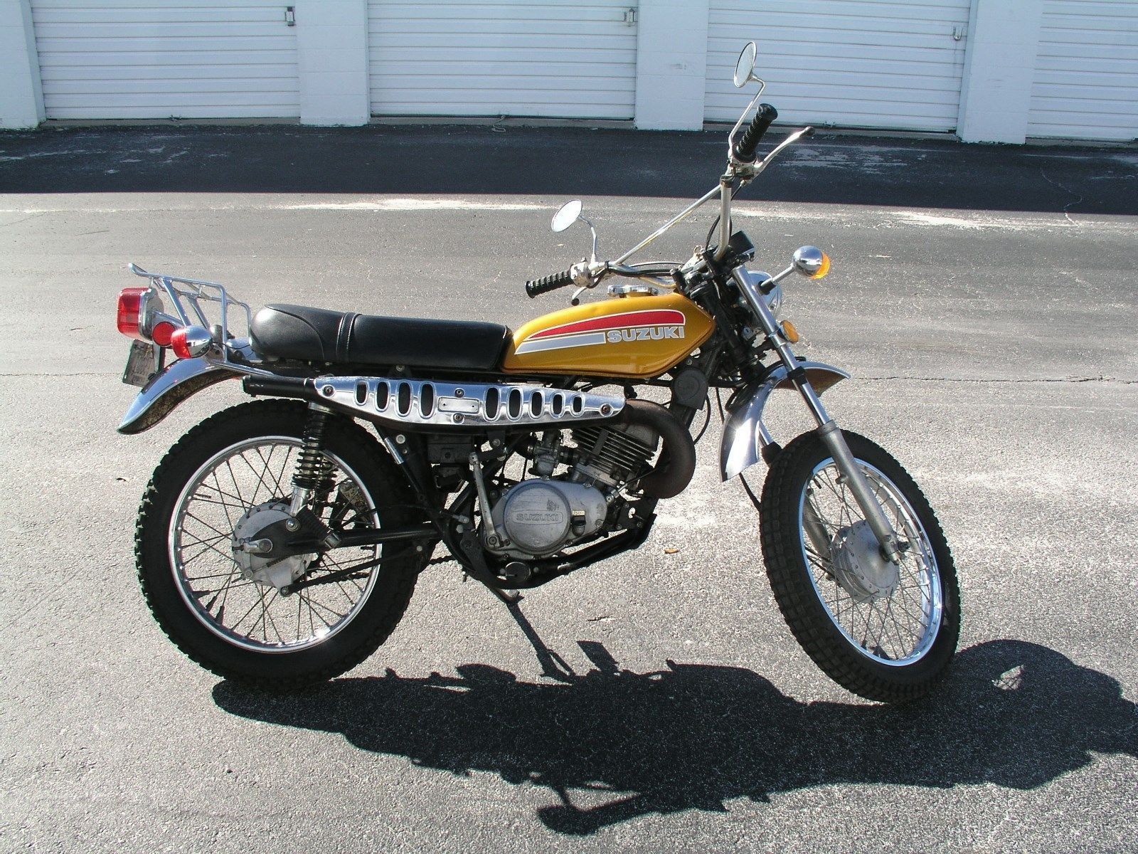1974 Suzuki TC 185 1974 Suzuki TS 185 TC185 Enduro Street Trail