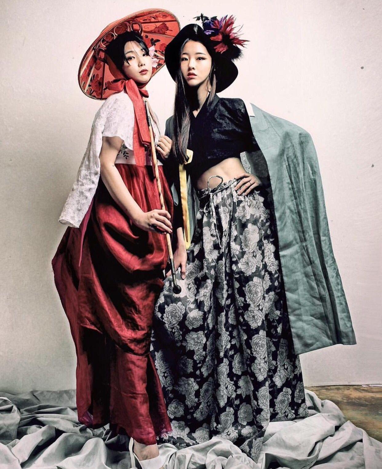 한복 Hanbok : Korean traditional clothes[dress]   #