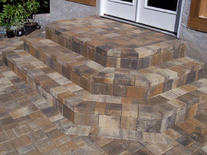 Brick Steps | Patio Stairs | Paver Steps | Patio Steps ...