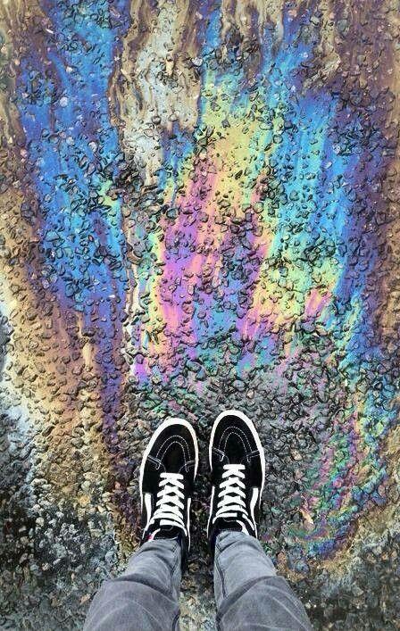 ~holographic grunge~ | Rainbow aesthetic, Tumblr pics
