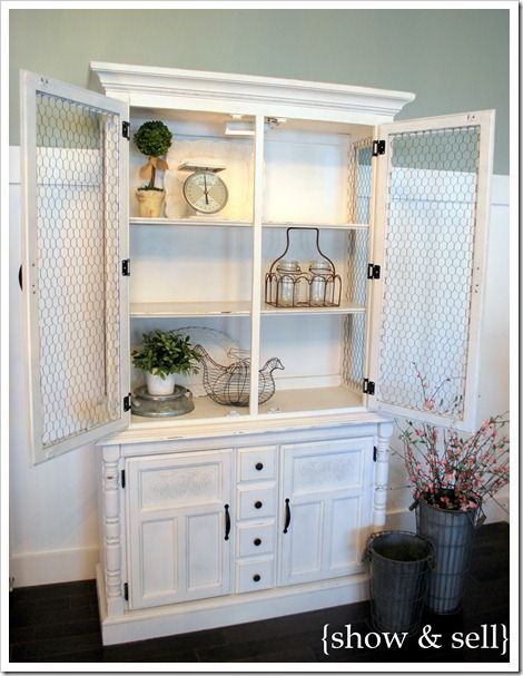 I just acquired a beautiful antique hutch, but it needs to be ...