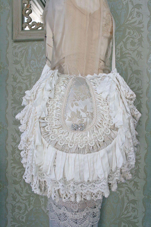 Boho Bohemian Gypsy Hippie Victorian Handbag Boho Chic