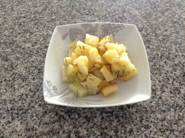 Receta de Patatas al horno con romero y ajo