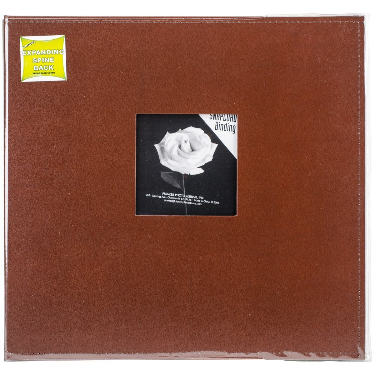 Pioneer 12 Inch By 12 Inch Snapload Sewn Leatherette Frame Cover