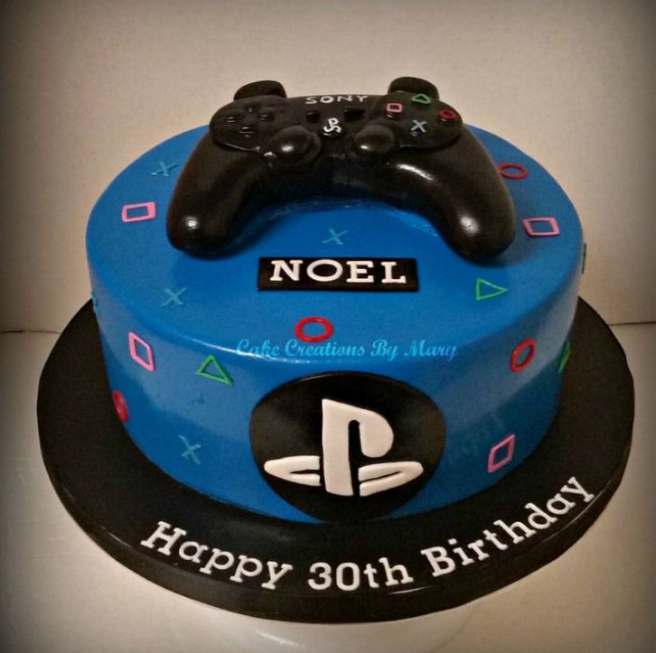 Playstation 4 Birthday Cake Ideas Via Party Ideas In 2019