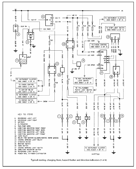 bmw e39 electrical wiring diagram 2 samochody pinterest prox switch diagram bmw e39 electrical wiring diagram 2