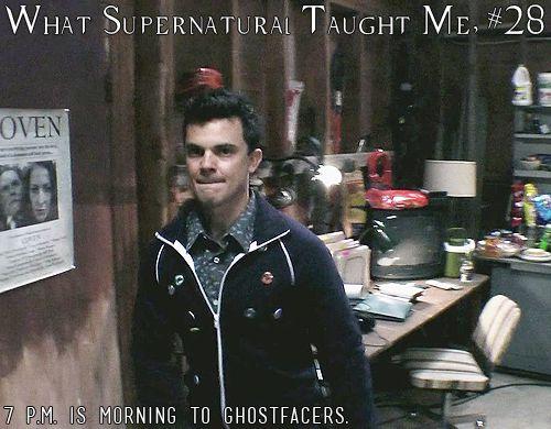What Supernatural Taught Me 28