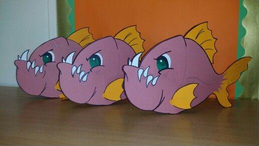 3D Standable Piranhas
