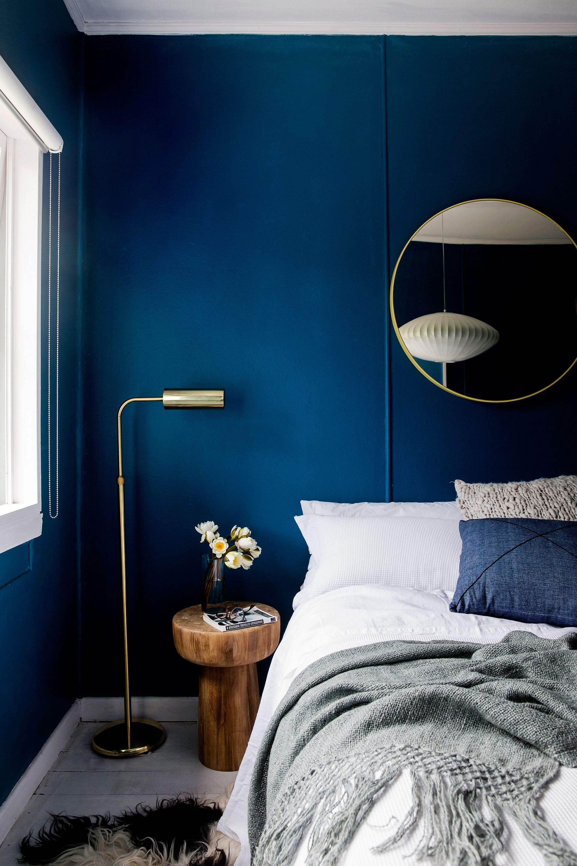 Blue Bedroom Furniture: DIY Couple Share Real-Life Home Renovation Advice In 2019
