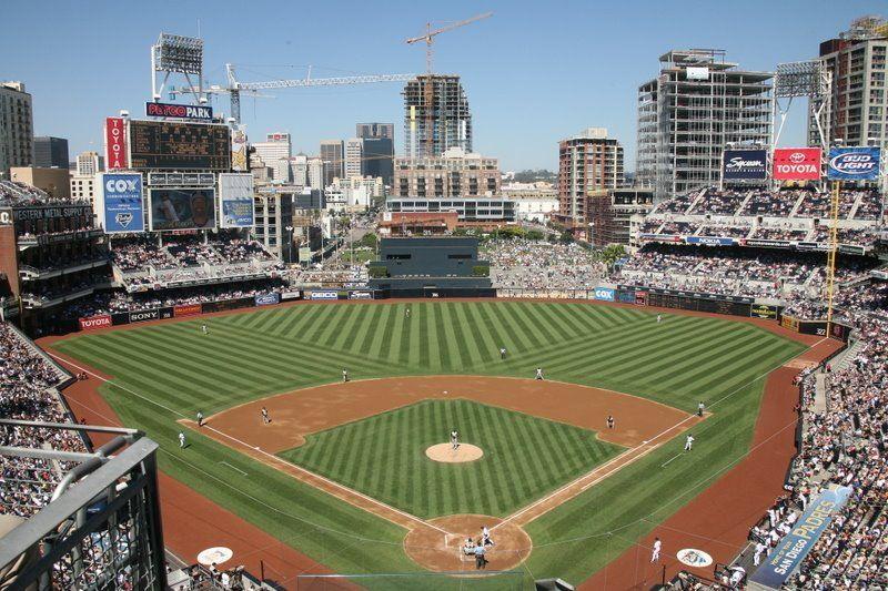 Padres Vs Dodgers Petco Park San Diego Ca Busch Stadium San Diego Padres Mlb Stadiums