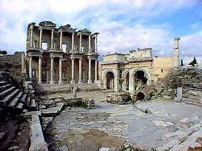 Library of Celsus, Ephesus, Turkey - I hope someday my kids will have the opportunity to see this place, it was beautiful.