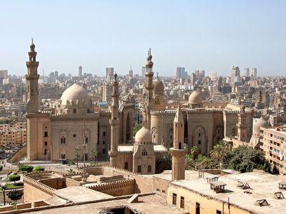 Egipto. La Mezquita de Alabastro de El Cairo