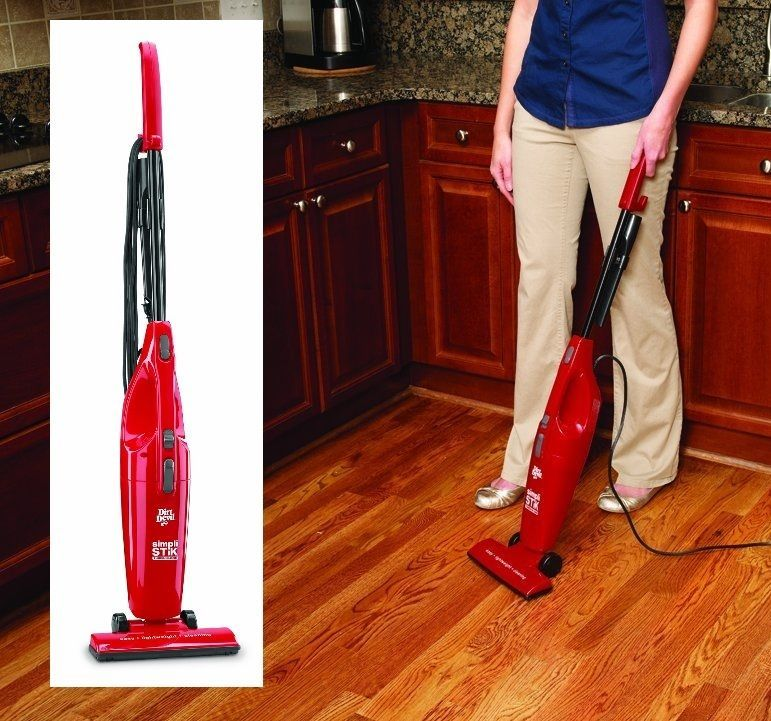 Stick Vacuum Electric Broom Bagless Carpet Cleaner Sweeper