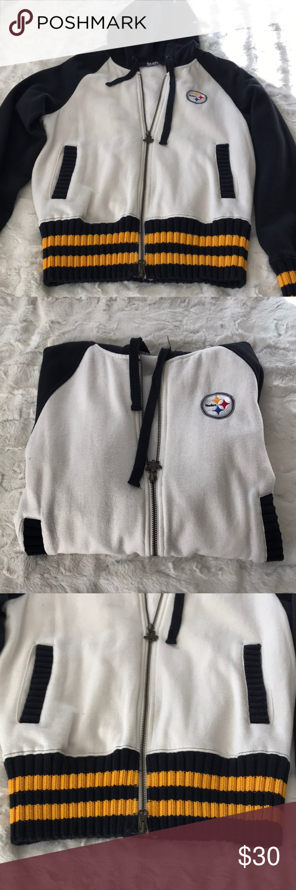 online store 2bd26 6f8d5 Pittsburgh Steelers jacket Alyssa Milano coll. 💛❤️💙 This ...
