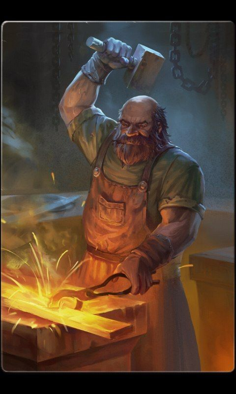 Pin By Sabrina On Pictures Fantasy Dwarf Fantasy Characters Blacksmithing
