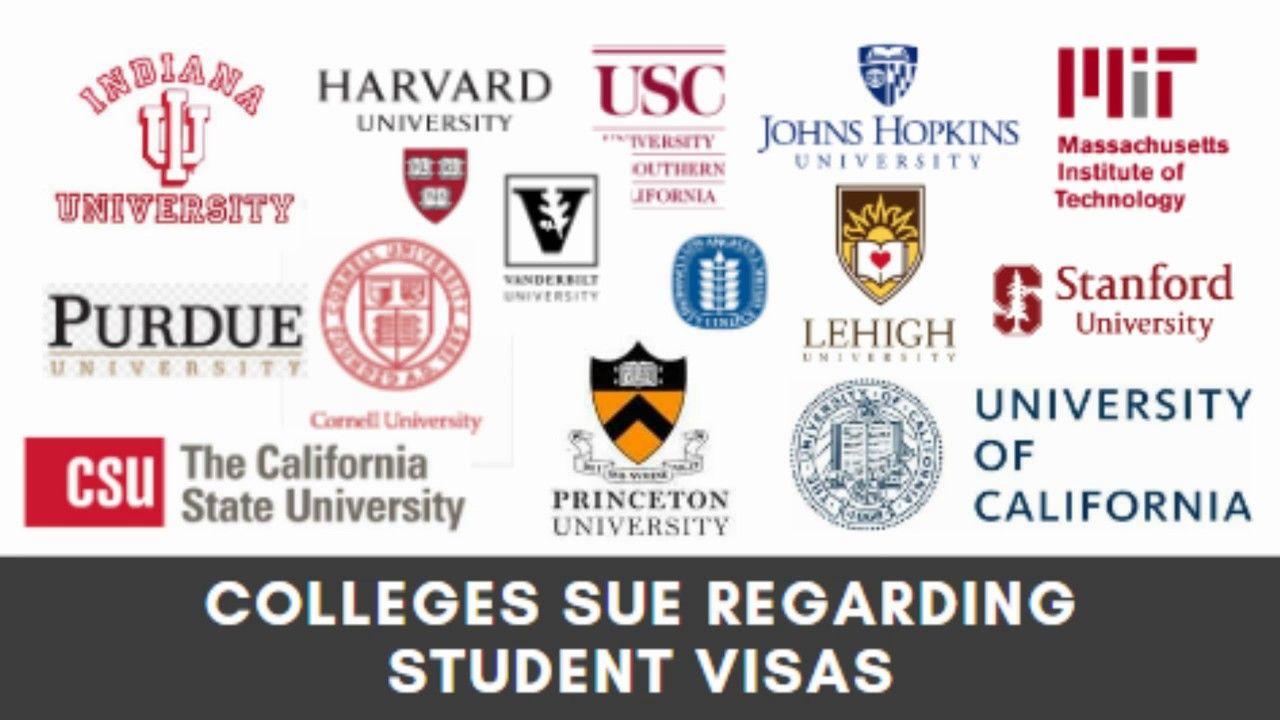 Harvard Mit Usc Uc Universities Lawsuit New Visa Rules For Internatio Uc University Student University University