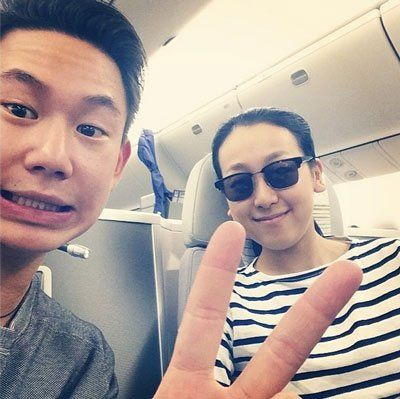 with Denis Ten(Kazakhstan)