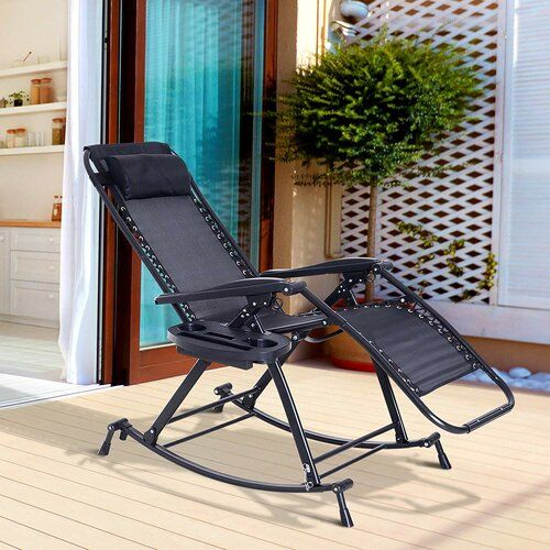 Sol 72 Outdoor Tampa Garden Rocking Chair Patio Chairs Patio Rocking Chairs Patio Lounge Chairs