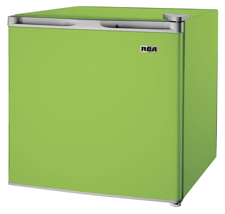 Rca Rca Igloo Rfr160 Green Fridge 1 6 Cubic Feet Green Compact