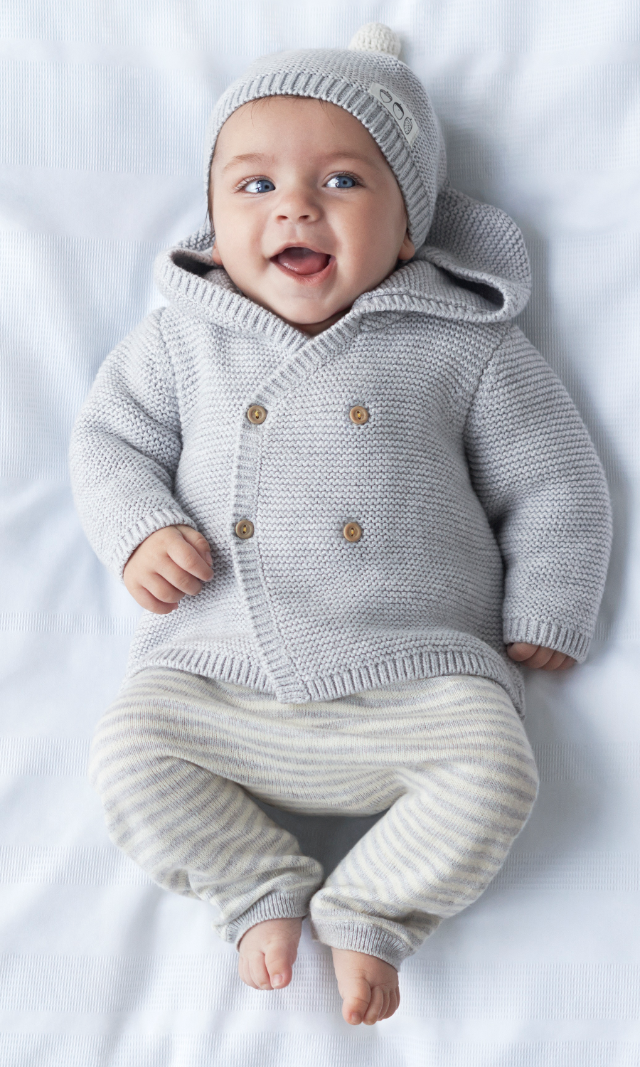 Babykleding Newborn.H M S Latest Collection Is Also Its Tiniest Baby Baby Jongen