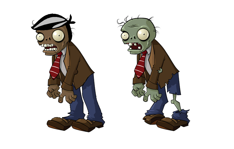 Zombies And Graves Coloring Pages