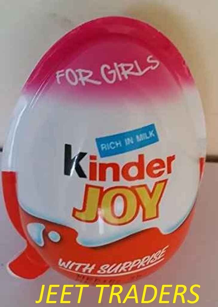 3b00358cc8e6 20 X Kinder Joy With Surprise Eggs In Toy   Chocolate For Girls Free  Shipping