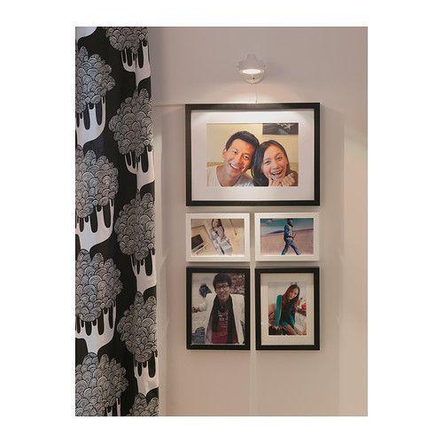 Ribba Ram Svart 50x70 Cm Bilderrahmen Wande Gerahmte Wand Ikea