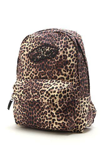 f5174cdf5399 Vans Realm Backpack at PacSun.com   Leopard love <3   Backpacks ...