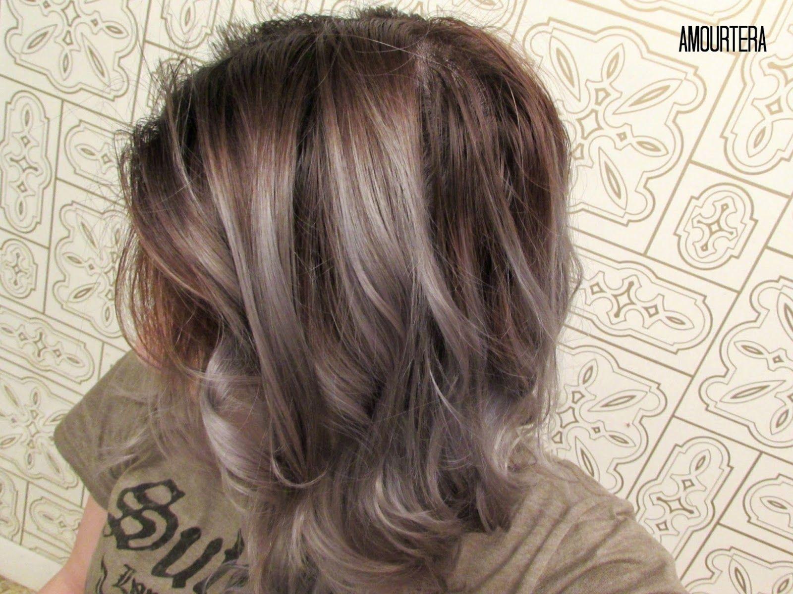 HOW TO GET SILVER/GRAY HAIR AT HOME | Silver grey hair, Gray hair ...