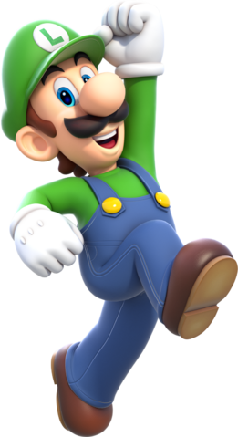 4a3e8467ad6 Luigi Artwork (alt) - Super Mario 3D World