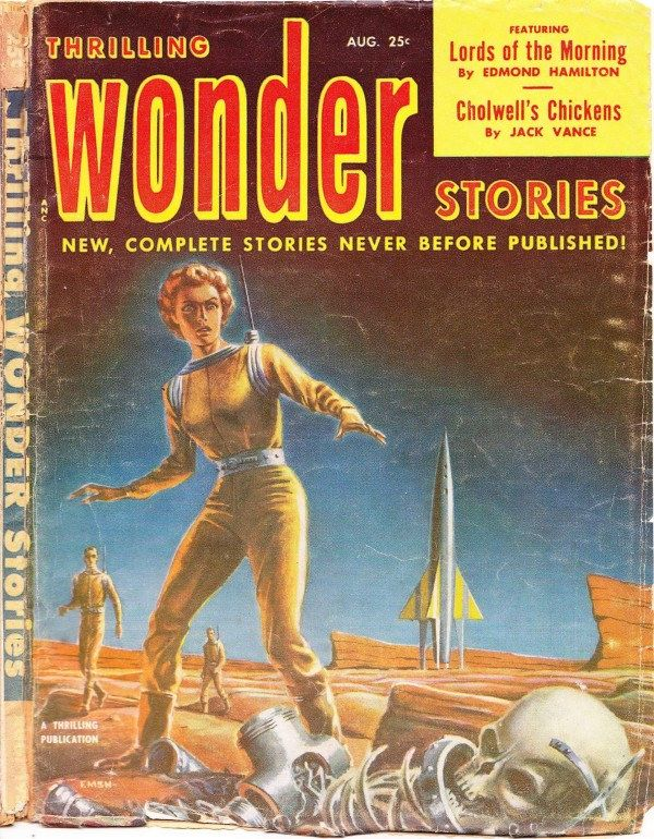 Thrilling Wonder Stories – Lords of the Morning Vol. 40 # 2 (August 1952) by Emsh | Flickr - Photo Sharing!
