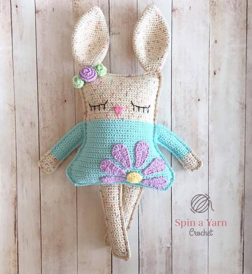 Ragdoll Spring Bunny Free Crochet Pattern | Baby stricken, Häckeln ...