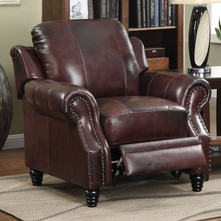 Best Burgundy Leather Accent Chair Cool Furniture Ideas Check 400 x 300