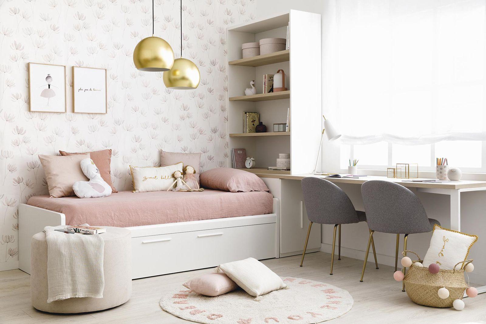 Los dormitorios infantiles deben estimular su imaginación