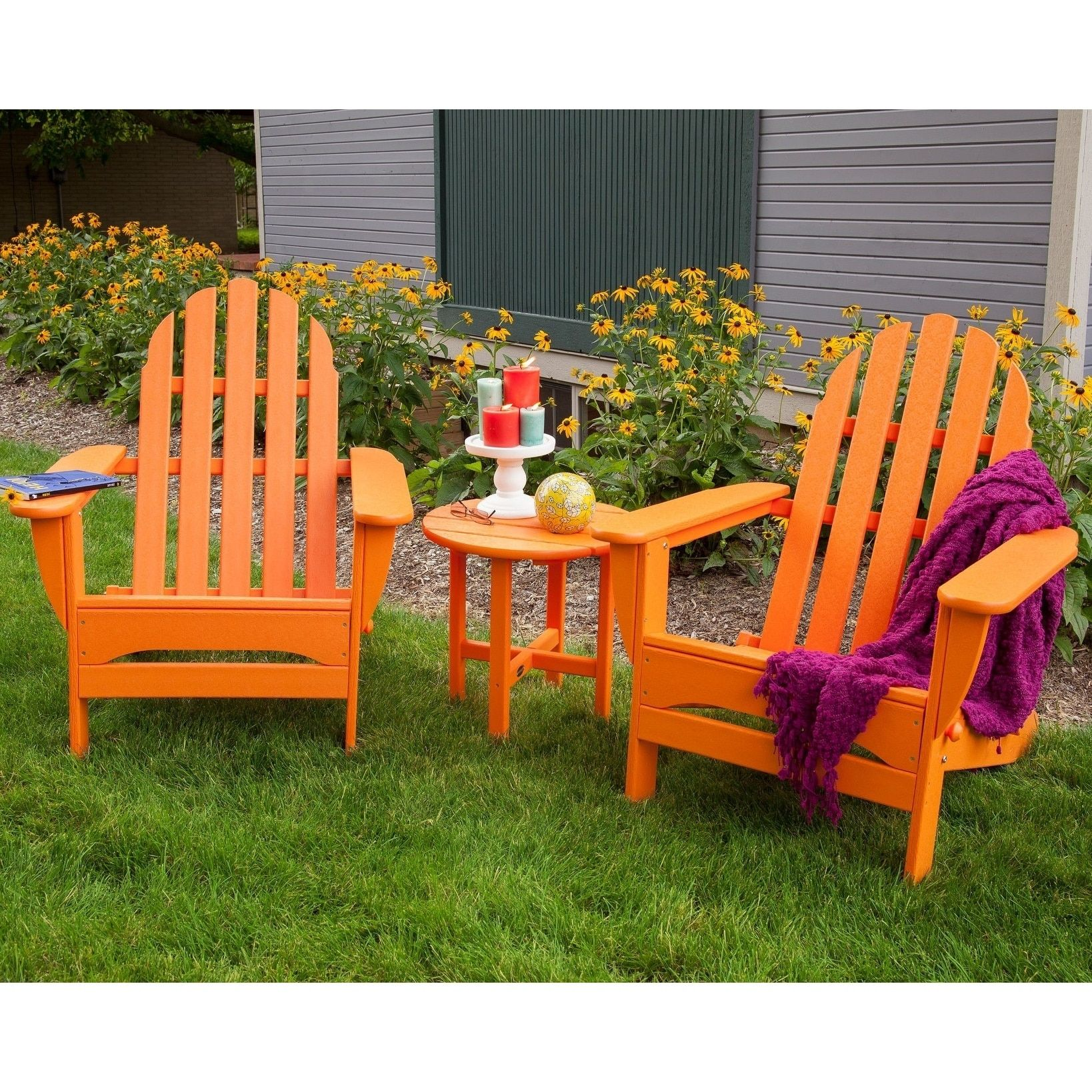 Adirondack Patio Furniture And Other Materials Deciding On Patio Sets For Your Home