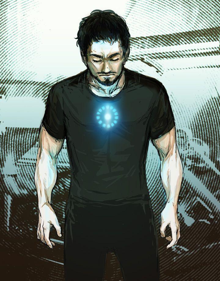 Tony Stark by beanclam.deviantart.com on @DeviantArt