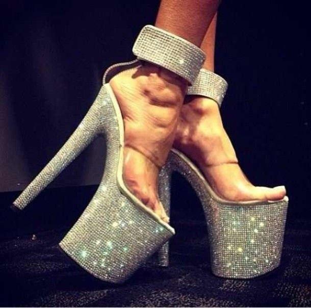 78b60271692 shoes diamonds rhinestone bling dancer shoes exotic dancer stripper high heels  sandals