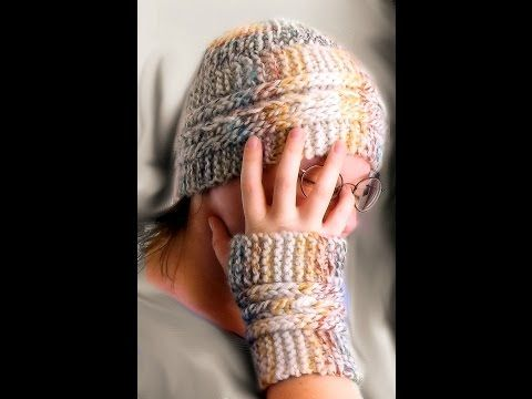 How To Loom Knit Garter Slip Chain Hat Youtube Loom Knitting