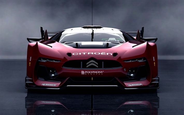 Download Wallpapers Citroen GT, Hypercars, Supercars