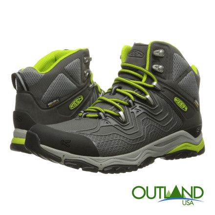 Keen Mens Aphlex Mid Hiking Boot, on