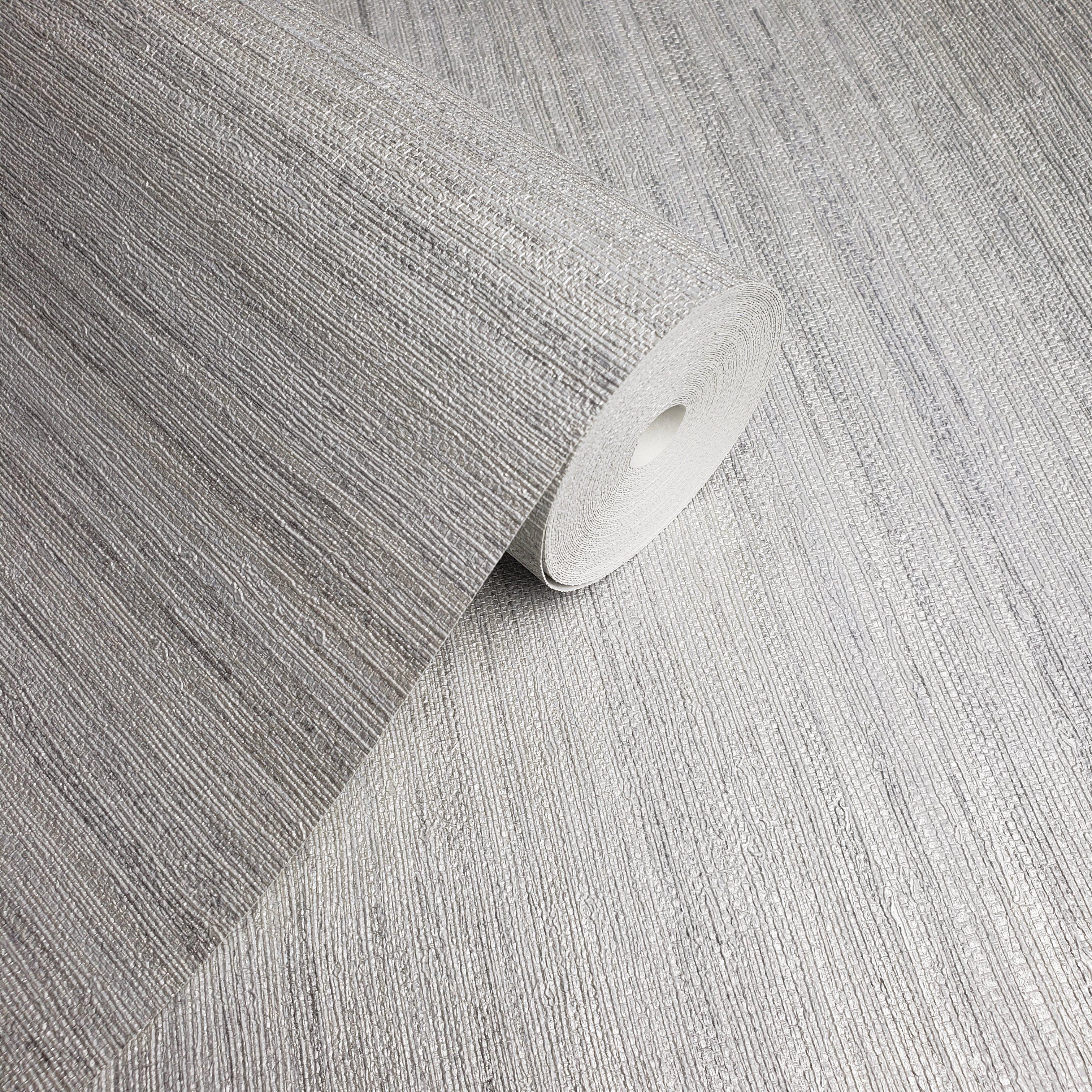 WM8800801 Modern Wallpaper Rustic Gray Silver metallic