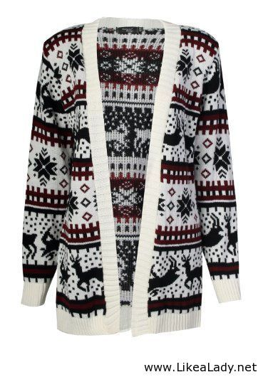Womens Christmas Sweater My kind of style Pinterest Sweaters