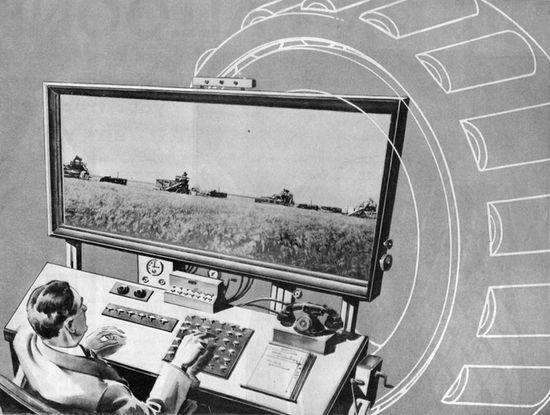 1931 remote-controlled farm of the future