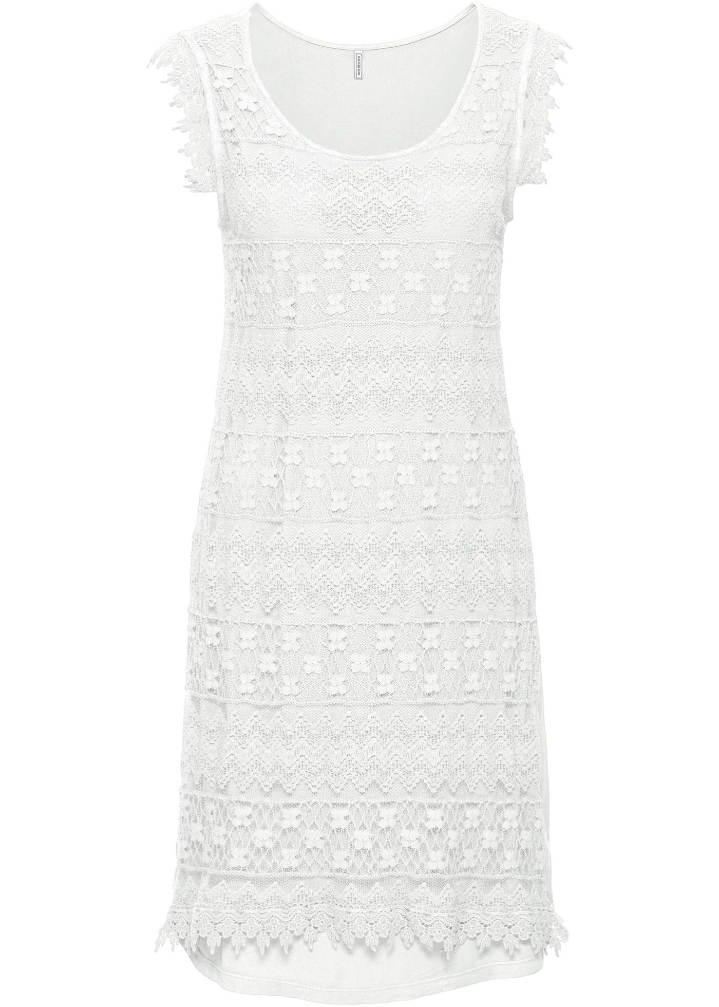 Elegant, lässig und romantisch - Ein Kleid aus Spitze mit vielen