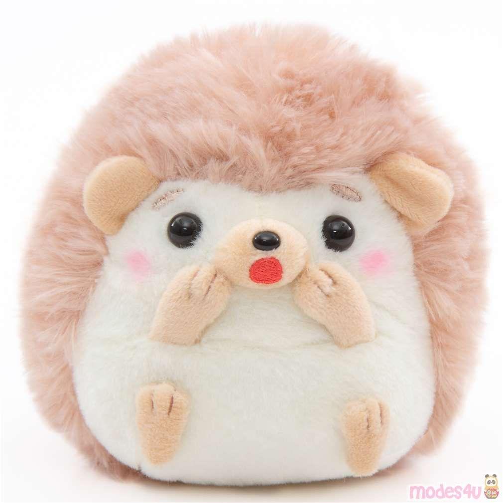 Small Light Cream Brown Hedgehog Harin The Hedeghog Plush Toy Japan Plush Toy Plush Stuffed Animals Plush [ 1010 x 1010 Pixel ]