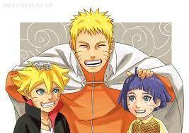 Naruto and his kids
