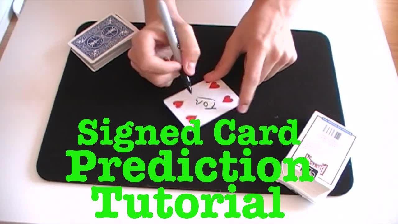 pinhanzla habib on signed card trick  card tricks